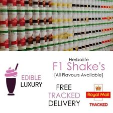 HERBALIFE   UK FORMULA 1   Delicious Protein Shake Meal   New Sealed Tub   550G