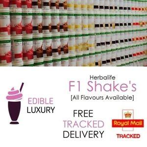 HERBALIFE | UK FORMULA 1 | Delicious Protein Shake Meal | New Sealed Tub | 550G