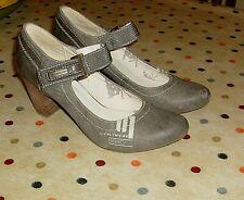 Ladies S'Oliver Shoes Size UK 7 EU 41 Grey