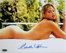 Estella Warren Signed 8x10 Photo Victoria Secret Model Beauty & The Beast F
