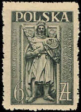 Scott # 394 - 1946 - ' Duke Henry IV of Silesia from Tomb at Wroclaw '