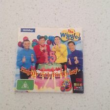 THE WIGGLES KIDS  DVD GENUINE ITEM, BIRTHDAY  OFFICIAL ITEM BARGAIN