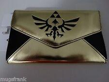 The Legend Of Zelda Video Game Nintendo Black And Gold Envelope Wallet