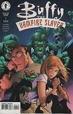 Buffy the Vampire Slayer #11 art cover comic book TV show series Joss Whedon