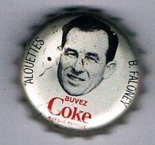 1965 Coke Caps CFL French #114 Bernie Faloney