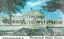 Zehnder's Chicken Diners  Frankenmuth Michigan     Chrome Postcard