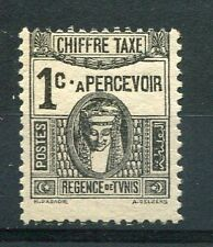 TUNISIE 1923/29, timbre TAXE n° 37, DEESSE, neuf (*)