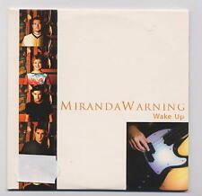 MIRANDA WARNING Spanish Cd Single WAKE UP  1 track 2000