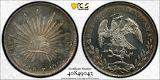 Mexico 1896 ZS FZ Silver 8 Reales MS 63 PL PCGS Rare Flashy Coin 9043