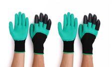 2-Pair - Poppybest Green Gardening Gloves with Gloves - WATERPROOF