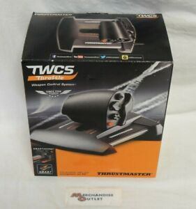 Thrustmaster 2960754 TWCS Throttle Weapon Control System - Black