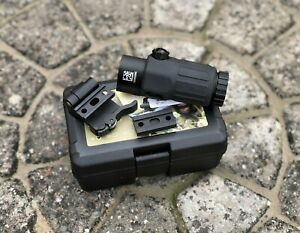 SOTAC G33 3x Magnifier W/ Flip To Side Mount For Eotech Holographic Airsoft
