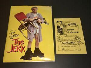 The JERK (1979) Steve Martin SIGNED: Carl Gottlieb Writer - PRESS KIT ~ XF +COA!