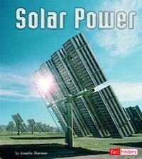 Solar Power (Energy at Work) by Sherman, Josepha