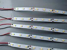 "9 LED light strip (lot of 5) Warm white interior lights 6"" length"