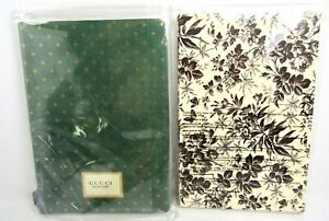 GUCCI Memoire Notebook Journal Diary + GUCCI Bloom Y3 Notebook - NEW Sealed