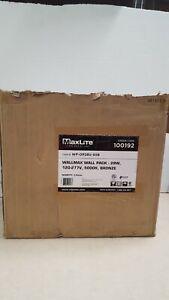 Lot of 4 - MaxLite WP-OP28U-50 LED Wall Pack Light - 28 Watt
