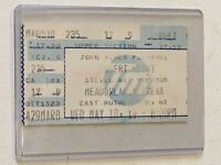Stevie Ray Vaughan SRV Robert Plant 1988 Concert Ticket Stub New Jersey