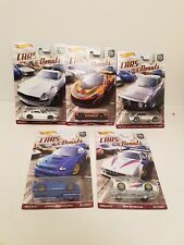 Set Of 5 Hot Wheels Cars and Donuts Car Culture NEW 2017 IN STOCK