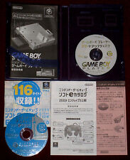 *Complete* Nintendo GameCube GAME BOY PLAYER START-UP DISC NTSC-J Japan Gameboy