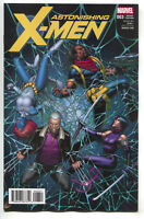 Astonishing X-Men 3 Marvel 2017 NM+ 1:25 Dale Keown Variant Psylocke Wolverine