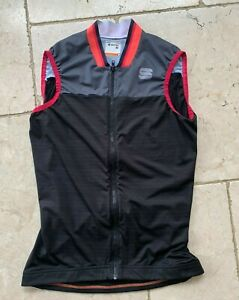 Sportful Sleeveless Cycle top Womens Jersey Black Small S