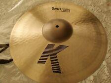 "Zildjian 18"" Sweet Crash K  Cymbal  K0704"
