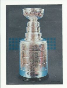 1992-93 Panini Stickers RARE French THE STANLEY CUP #1 NHL EX-MT+