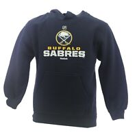 Buffalo Sabres Official NHL Reebok Kids & Youth Size Hooded Sweatshirt New Tags