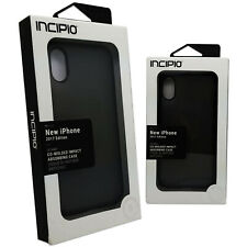 Incipio OCTANE Impact Absorbing Co-molded Fitted Case Cover iPhone X Black - NEW