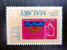Le Malawi 1979 - 10c Roland Hill inversées / WMK erreur variété sg607w U / M neuf sans charnière fp5536