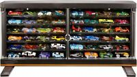 Hot Wheels Display Cabinet Vehicle Storage Case Car Collection Wall Shelving Toy