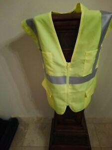 XL CornerStone Men's Polyester Sleeveless Tape Mesh Back Safety Vest. CSV405