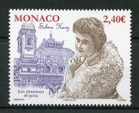 Monaco 2018 MNH Selma Kurz Opera Singer 1v Set Music Stamps