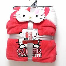 New Disney Hello Kitty Plush Pajamas Set Size 2X 18/20 Eye Mask Plus PJs Women