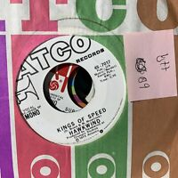 Hawkwind Kings Of Speed- ATCO 7017 PROMO VG++ Psych Rock Record 45