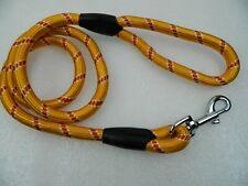 Braided Strong Nylon Rope Leash Pet Dog Walking Lead Leash Orange