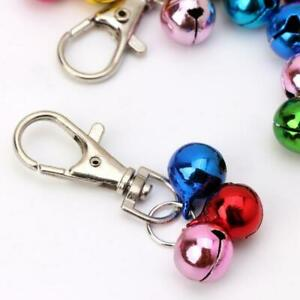 Clip on 3 jingle bells for Pet Dog &Cat kitten Collar Charm DIY decoration bell