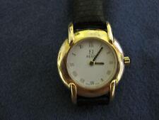 #385 FENDI ladys gold plate quartz watch