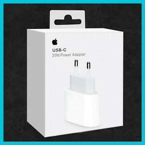 Original Apple iPhone 12 12 Pro Max Netzteil Ladegerät 20W USB-C Power Adapter