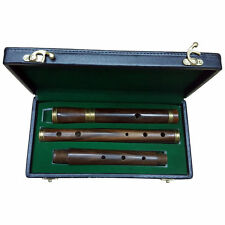 Brand New Professional Irish D Flute 4 parts made from Shesham Wood Length 23""