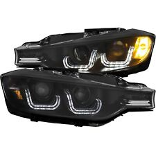 Anzo USA 121504 Projector Headlight Set 14-15 BMW 320I 328D 328I 335I