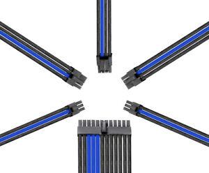 Reaper Kabel-Netzteil Erweiterungssatz-PSU Erweiterungen-carbon/blau