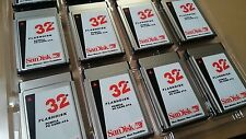 NEW SanDisk 32MB PCMCIA PC Card II Flash Disk ATA Memory for  GE Fanuc (CNC)
