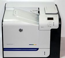 HP LaserJet 500 color m551dn, número de página 75098, tóner 20% -90%