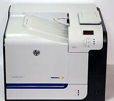 HP LaserJet  500 Color M551dn, Seitenzahl 75098,Toner 20%-90%