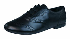 Chaussures habillées noirs à lacets pour fille de 2 à 16 ans