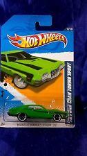 Hot Wheels '72 Ford Gran Torino Sport Muscle Mania Ford '12 Green/Black Design