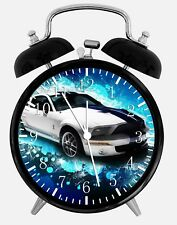 """Mustang GT Shelby Alarm Desk Clock 3.75"""" Home or Office Decor W184 Nice For Gift"""
