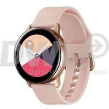 Samsung Galaxy Watch Active SM-R500 Cassa di Acciaio Oro Rosa, Cinturino di Silicone Oro Rosa, Smartwatch - (SM-R500NZDAITV)